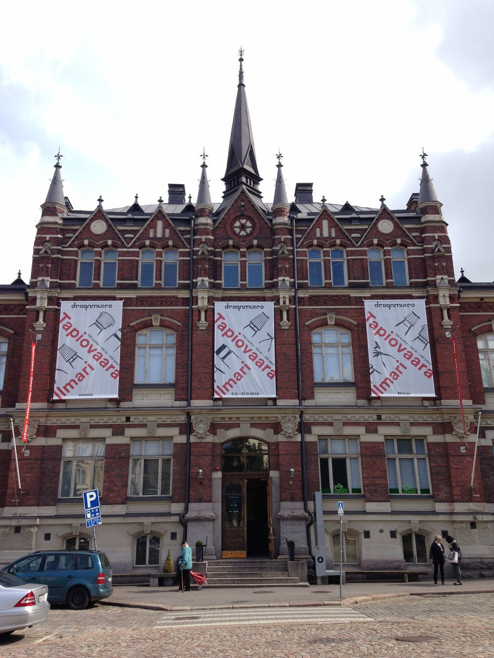 The Design Museum. A beautiful neo-gothic building from 1894.