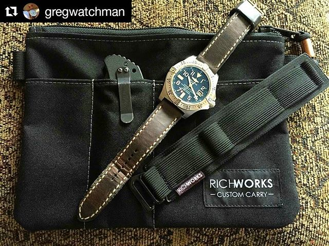 #Repost @gregwatchman with @repostapp ・・・ Look what came in the mail today! @richworksgear thanks guys!!! Great job! #richworks #richworksgear #Breitling #breitlingavengerseawolf #zerotoleranceknives #vintagerstraps #watchporn #wristporn #watchcollector #watchcollection #watchesofchicago #watchesofinstagram #redbar #redbarcrew #redbarchicago #redbarcrewchicago #commonwealthcrew #horology