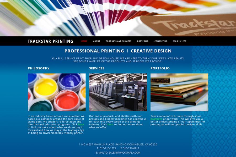 Trackstar Printing