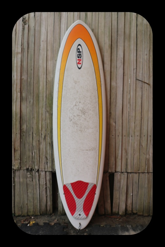 6'8 NSP Surfboards