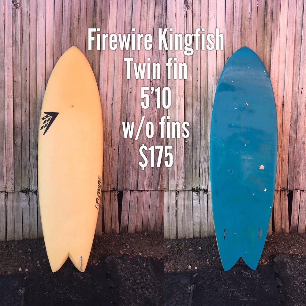 5'10 Firewire Kingfish
