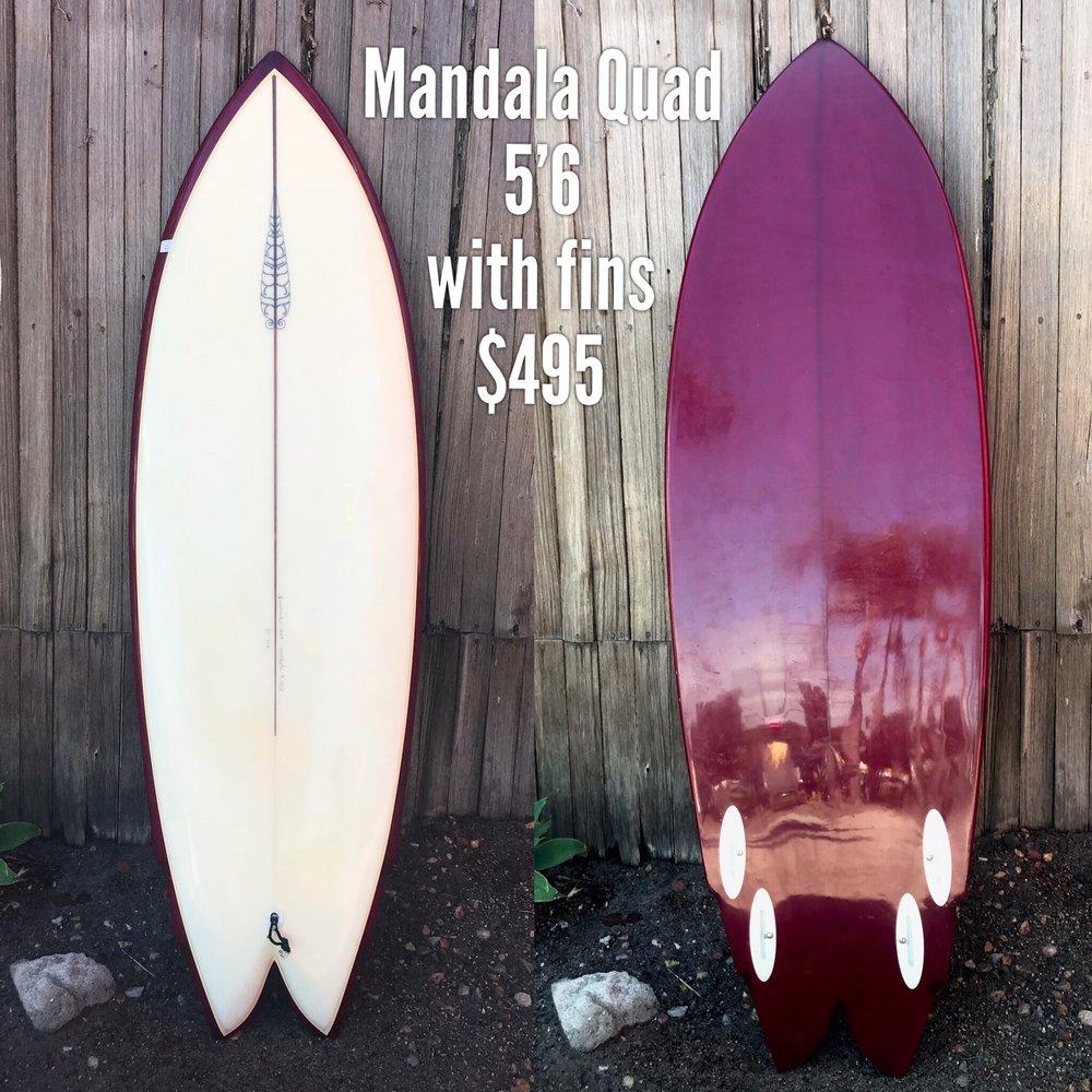 5'6 Mandala Quad