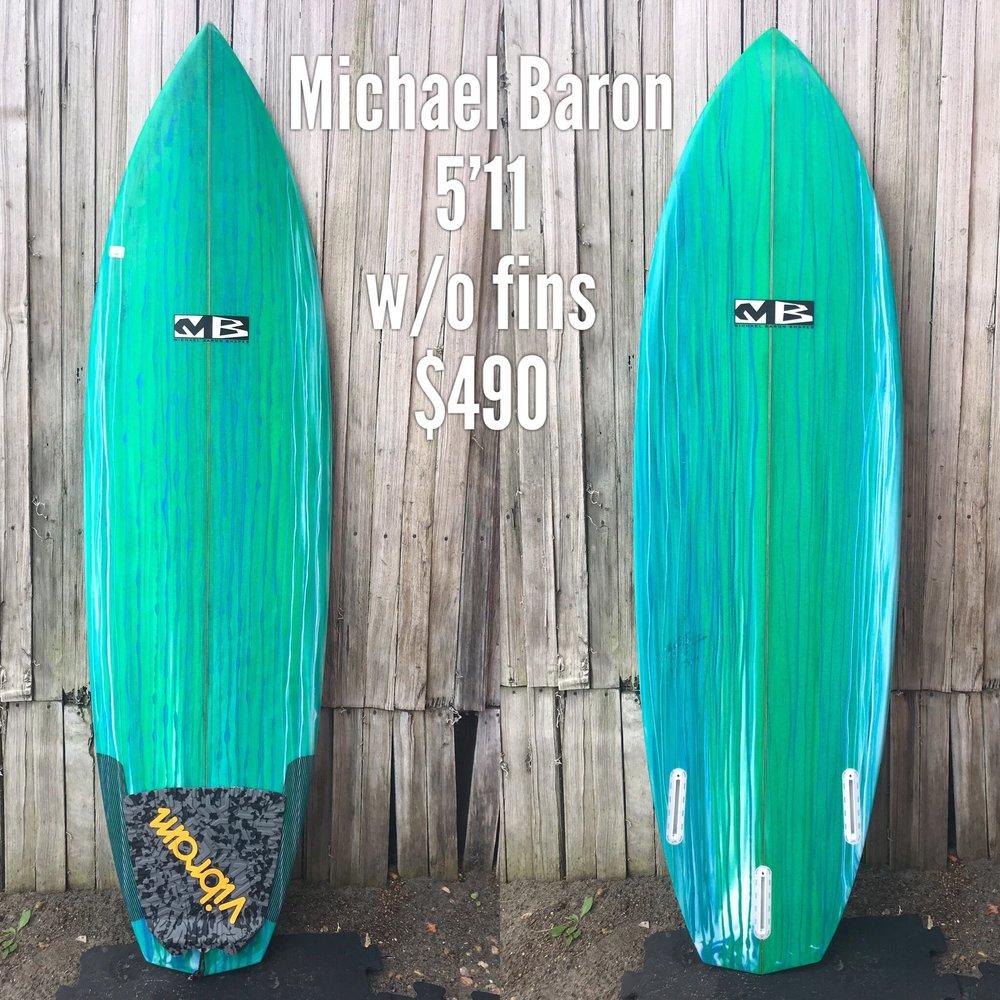 5'11 Michael Baron