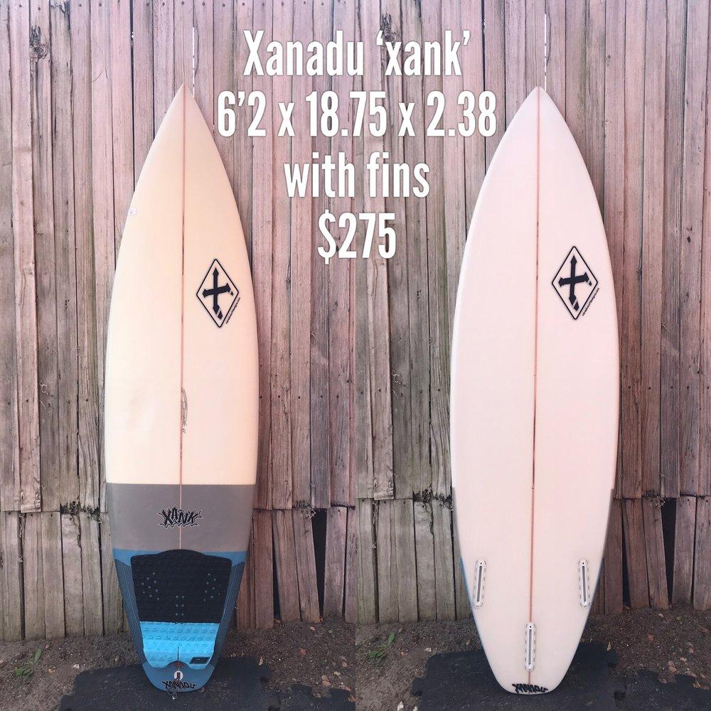 6'2 Xanadu 'Xank'