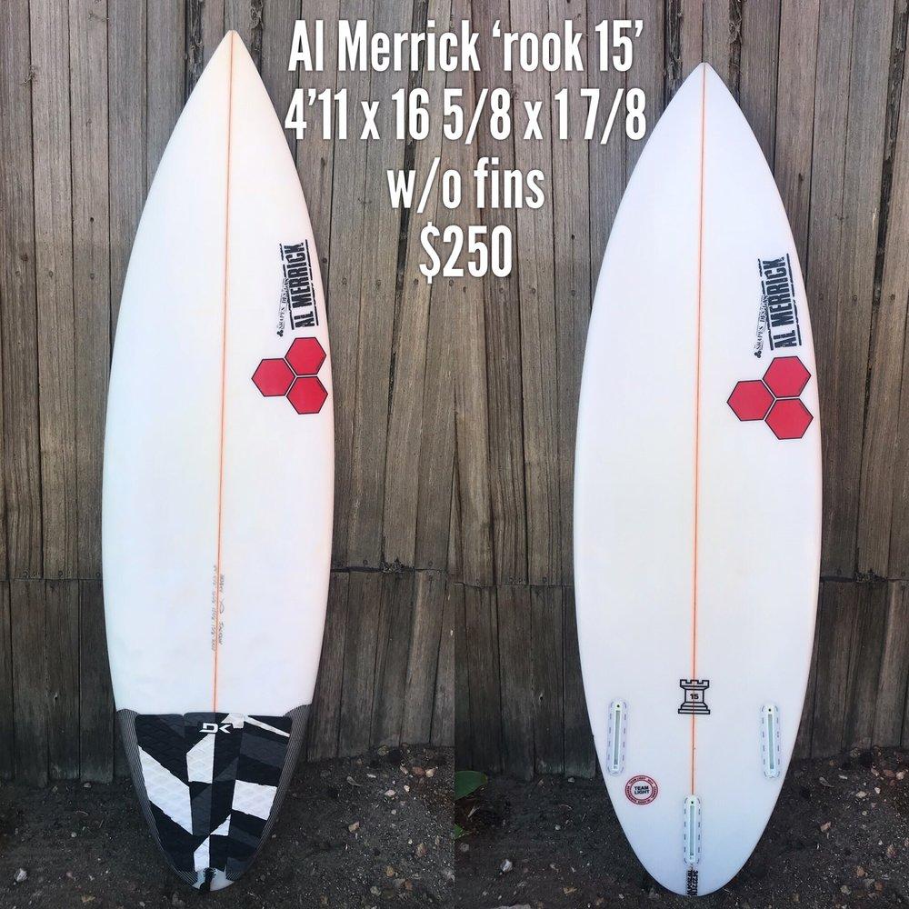 4'11 Al Merrick 'Rook 15'