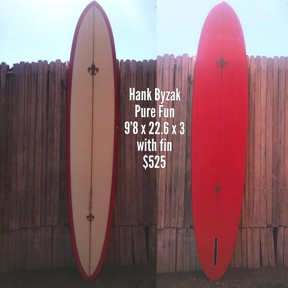 9'8 Hank Byzak