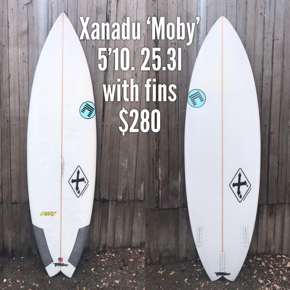 5'10 Xanadu 'Moby'