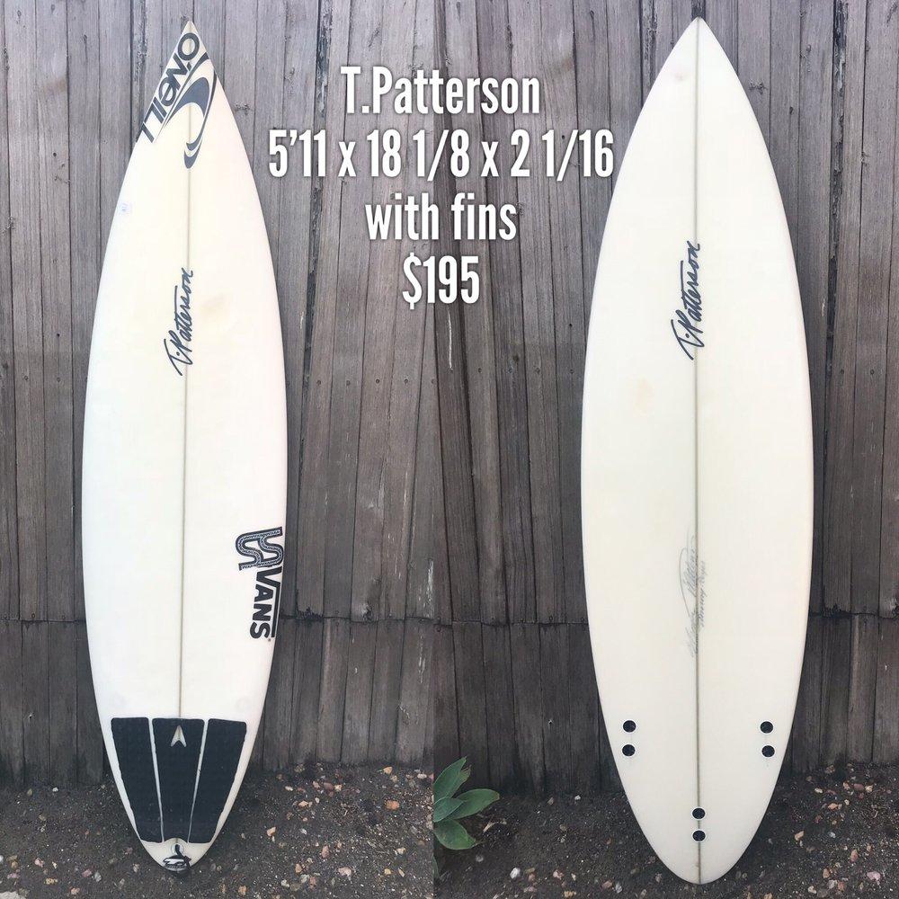 5'11 T.Patterson