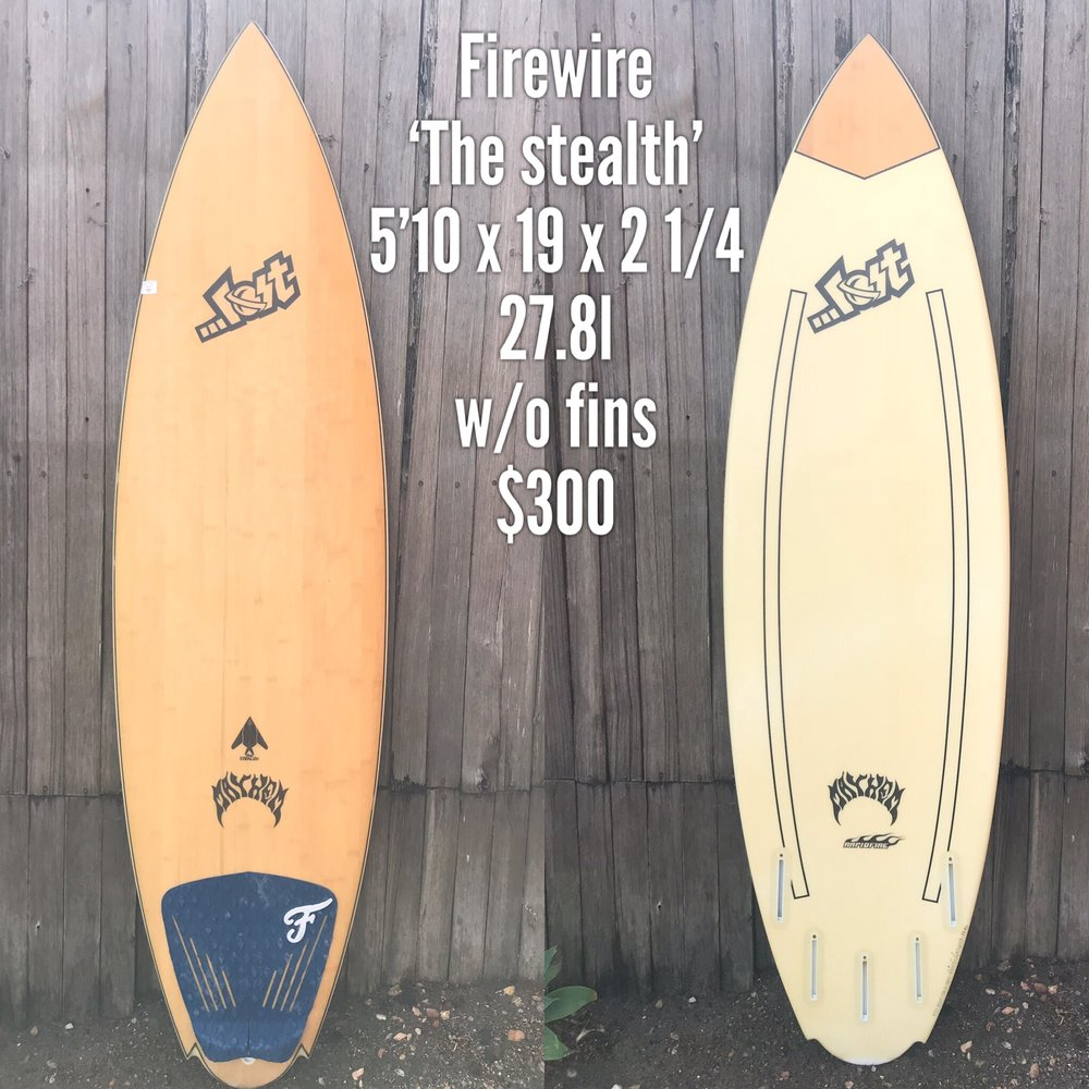 5'10 Firewire 'The Stealth'