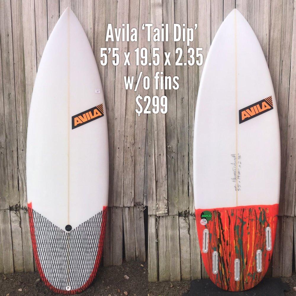 5'5 Avila 'Tail Dip'