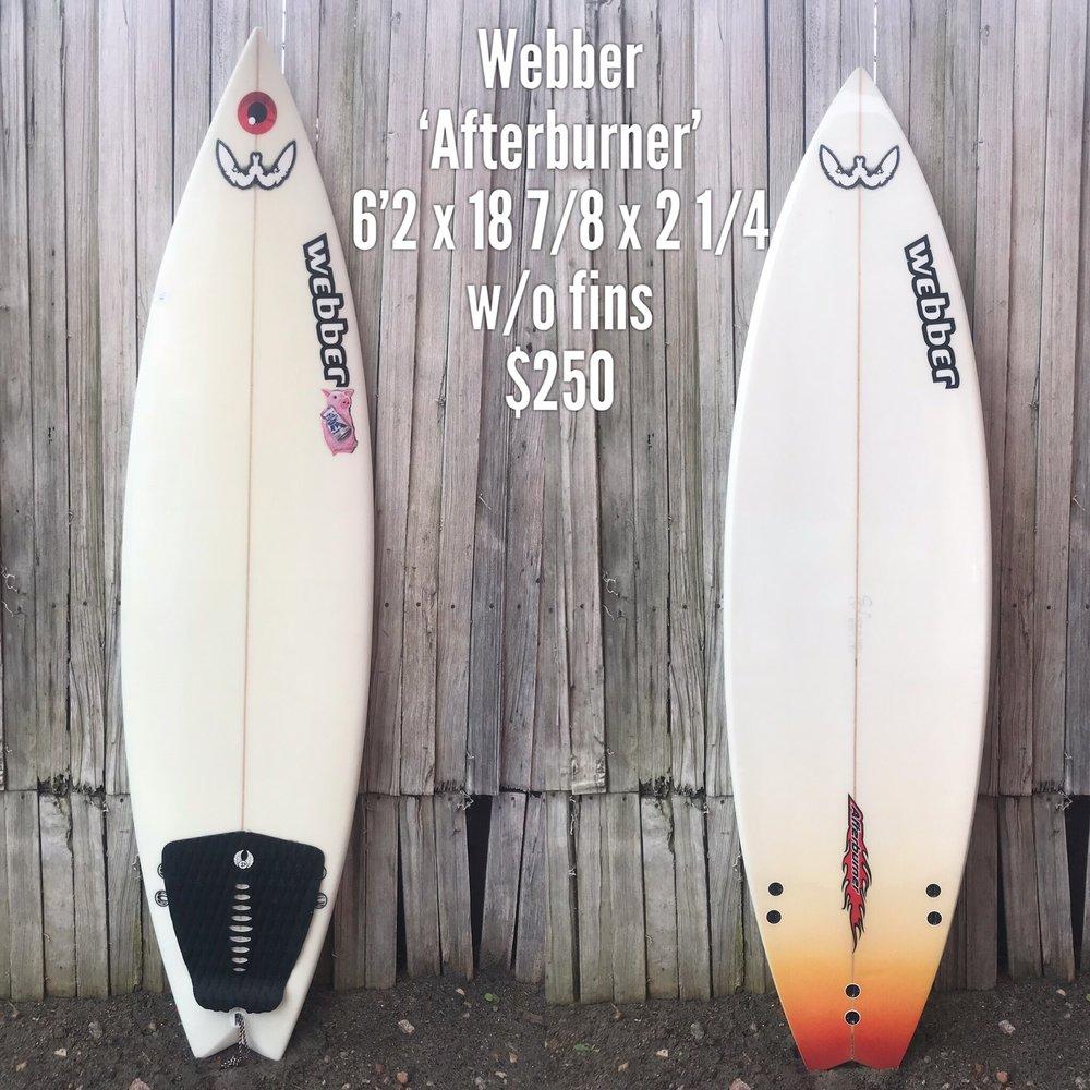 6'2 Webber 'Afterburner'