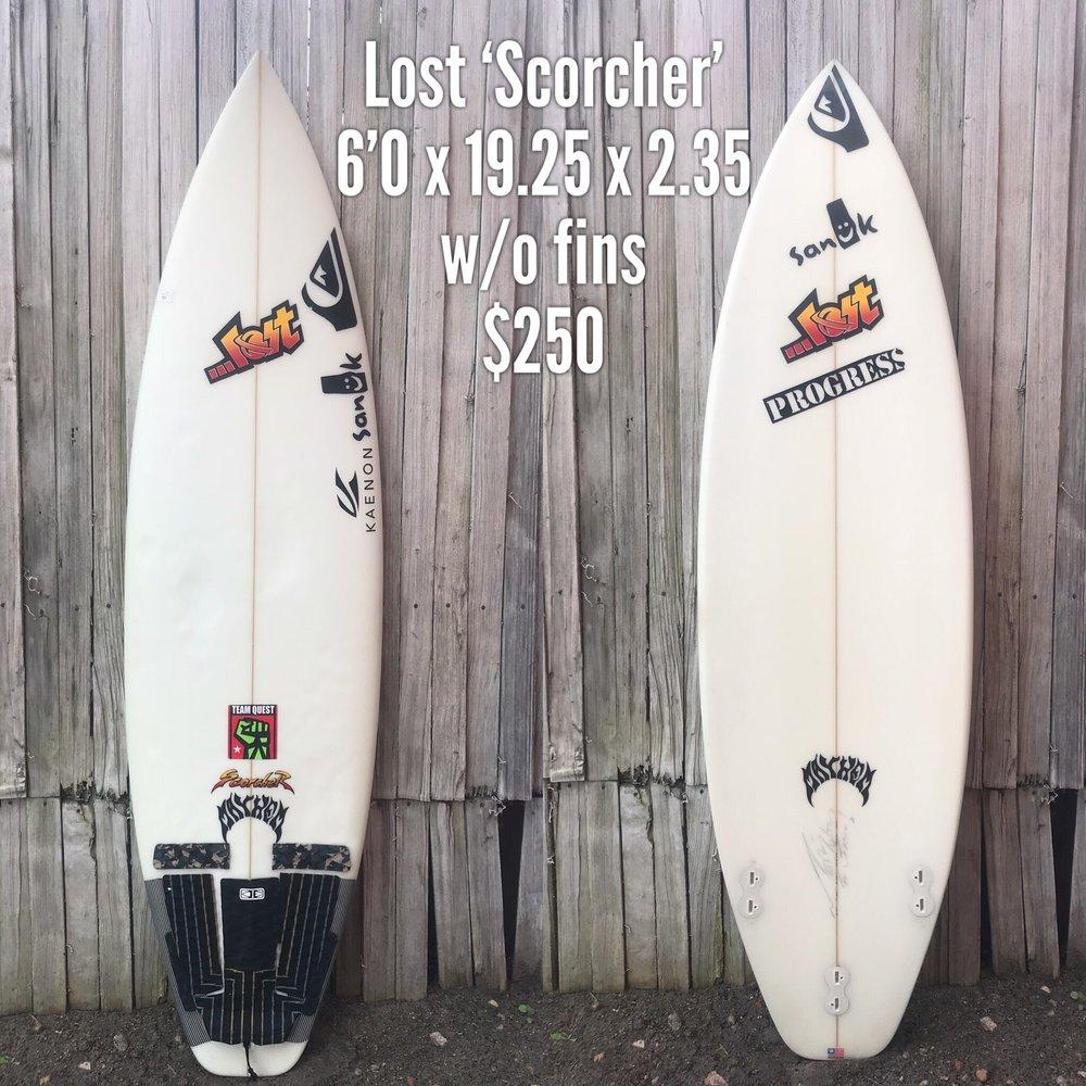 6'0 Lost 'Scorcher'