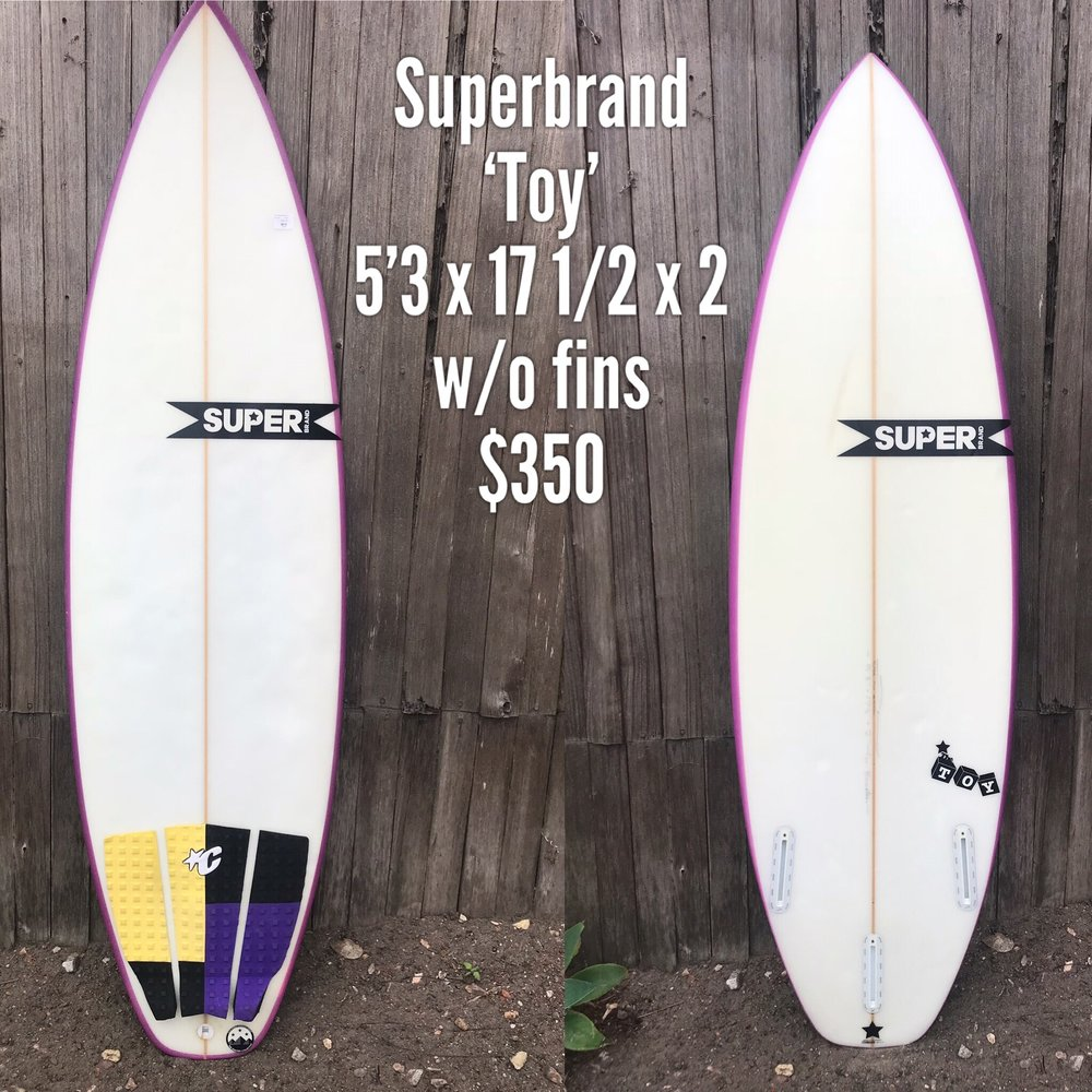 5'3 Superbrand 'Toy'