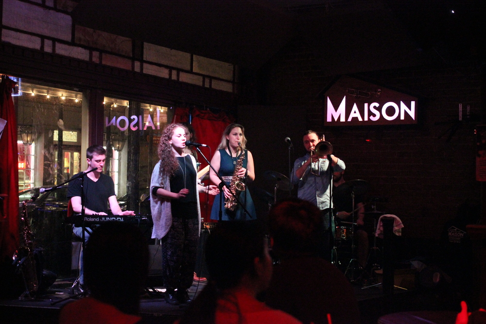 The Crooked Vines playing at Maison