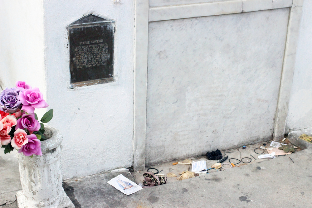 Marie Laveau's alleged tomb
