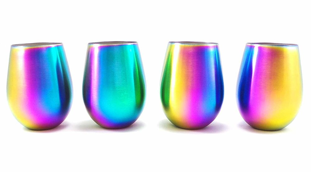 "These  wine tumblers  can also work for regular beverages like water and soda. I try to use all of my ""special occasion"" serving items on a regular basis because honestly, what's the point of having something this cool and never using it?"