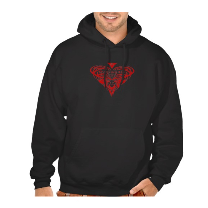 Hoodie with Darling3D logo $46.45