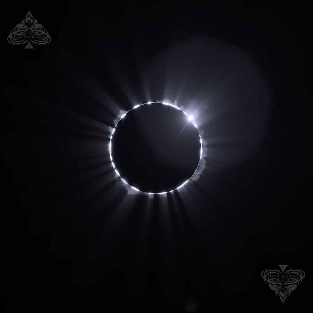 Solar Eclips  e Photoshop Brush   4K High Quality  50 Designs