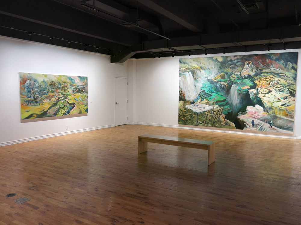 Installation shot by Jennifer Schuler at McClure Gallery, Montreal, 2013.