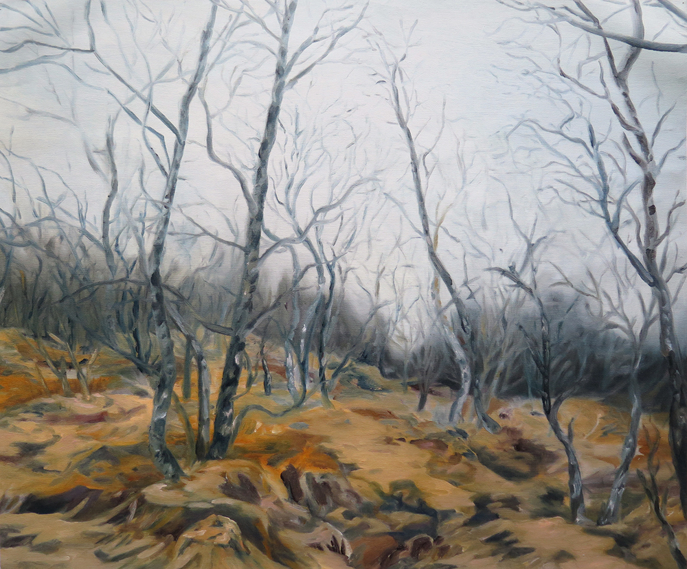 Field near Dale   Oil on canvas, 2013