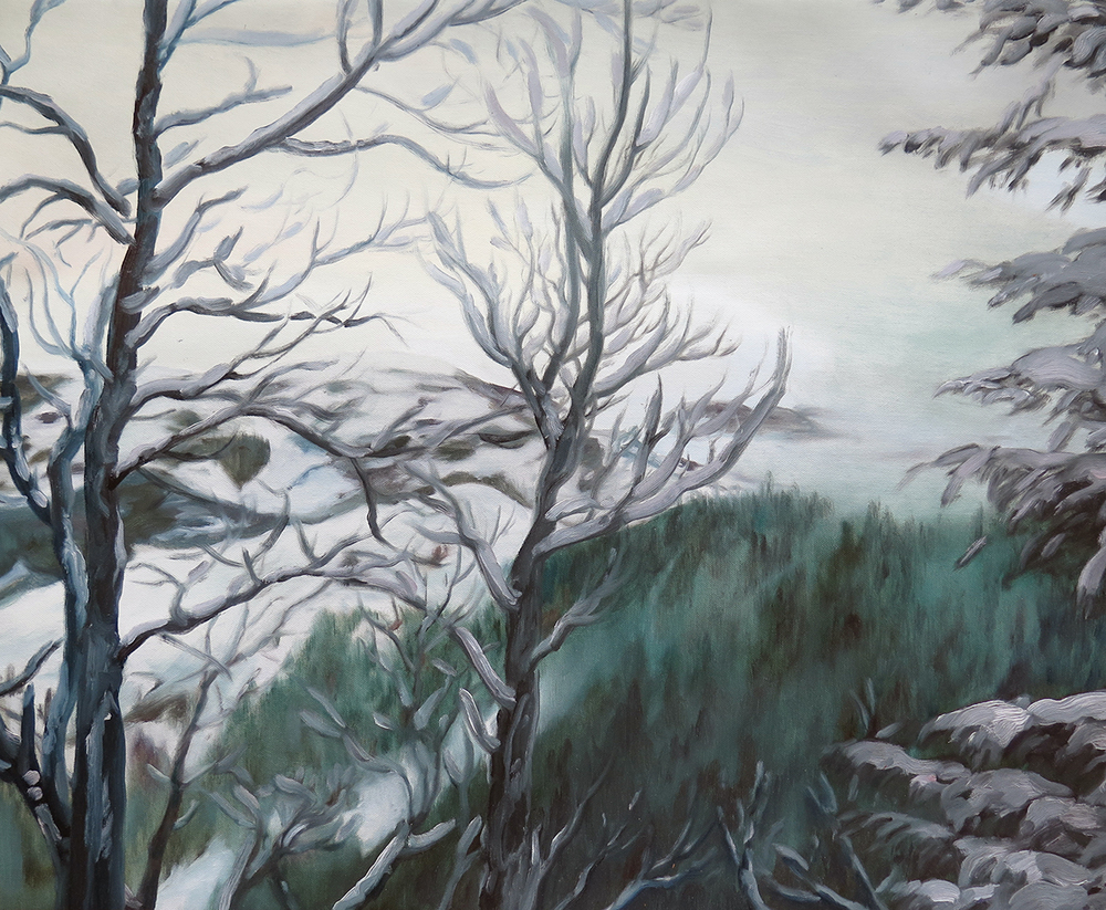 Lookout near Dale   Oil on canvas, 2013