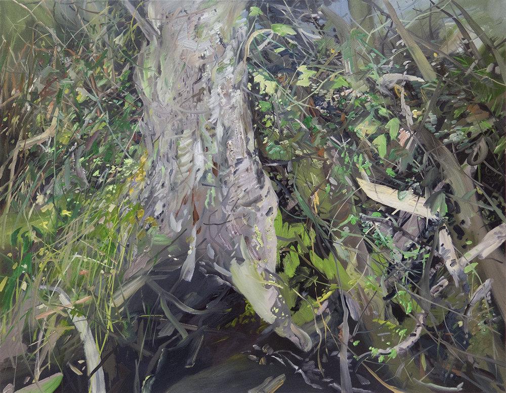 """Percival Landing"" Oil on canvas, 48"" x 60"""
