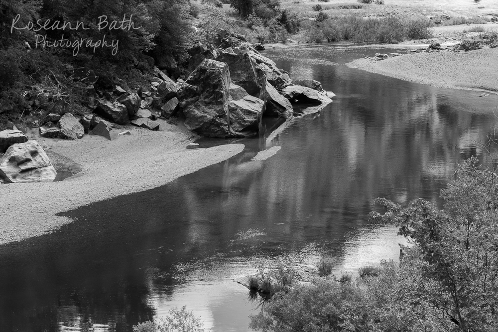 eel river black and white