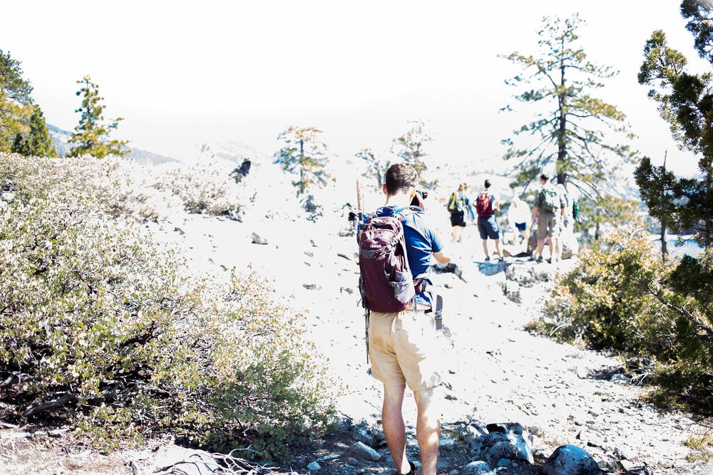 group shot lake spaulding hike