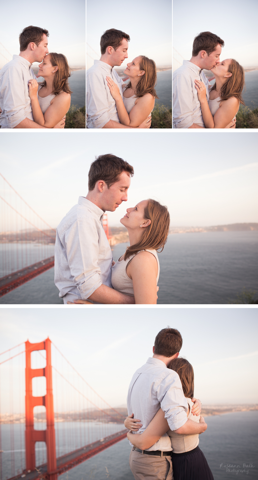 Golden Gate Bridge Engagement, Marin Headlands