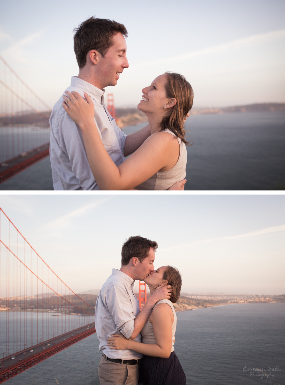 golden gate bridge kiss