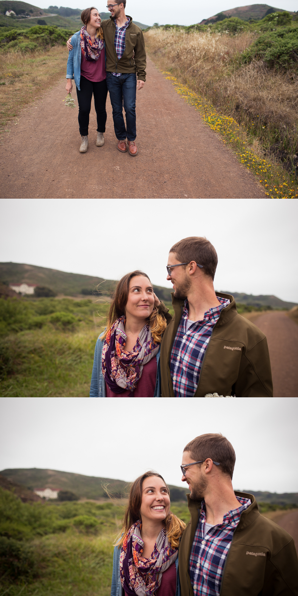 engagement session marin headlands