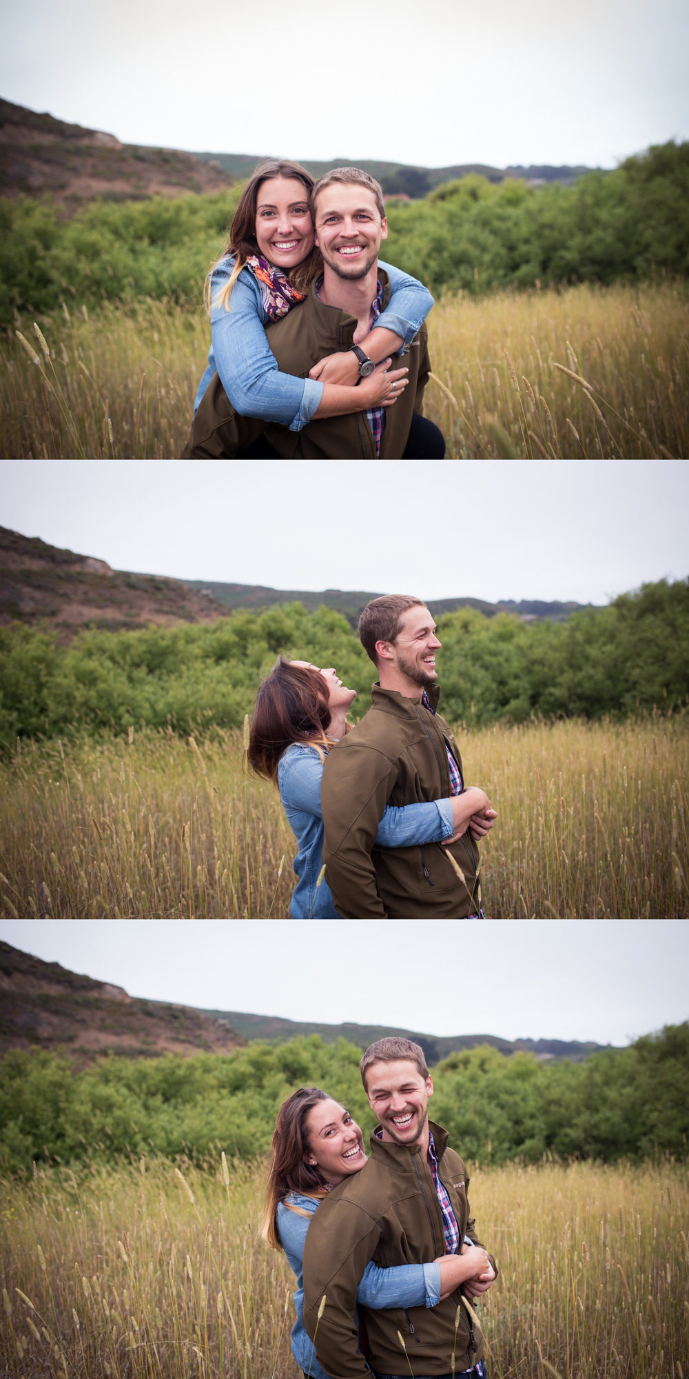 beautiful couple marin headlands
