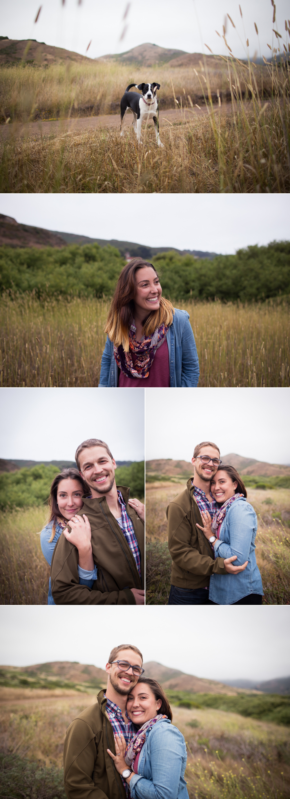Engaged in the Marin Headlands