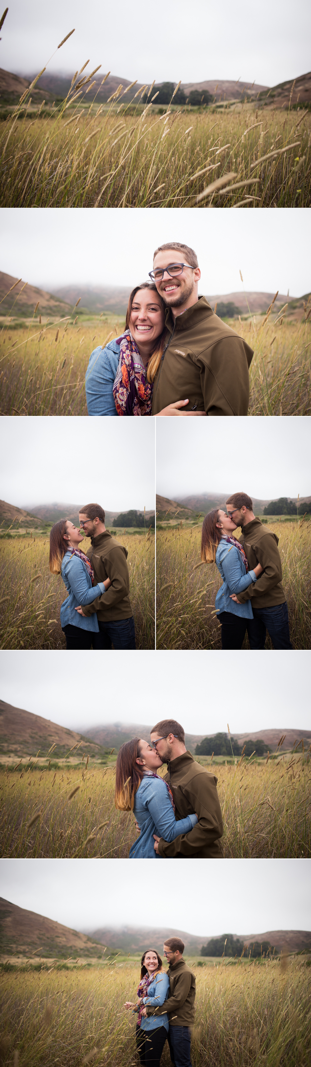 wheat fields engagement