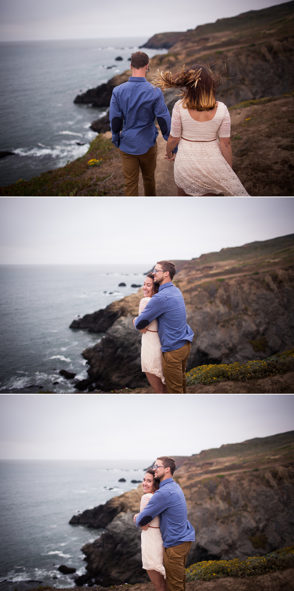 Rodeo Beach Engagement Session Marin Photographer