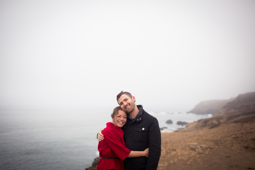 engagement photography marin headlands