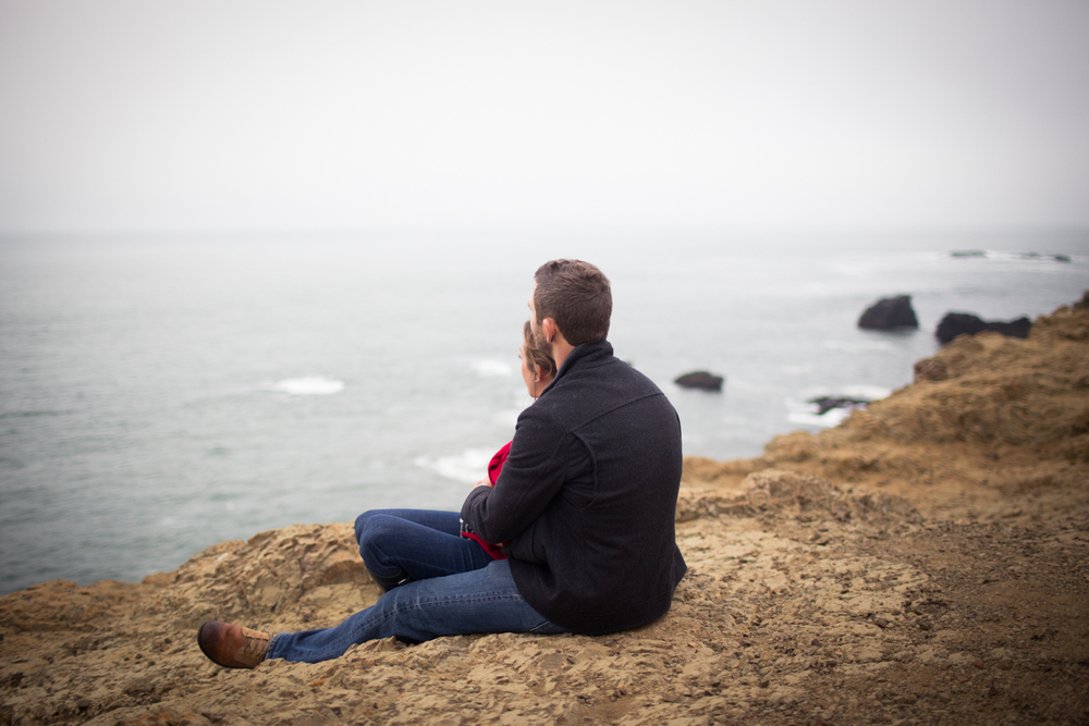 marin headlands coastal trail engagement photos