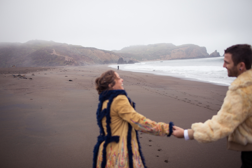 burning man engagement rodeo beach lifestyle photography