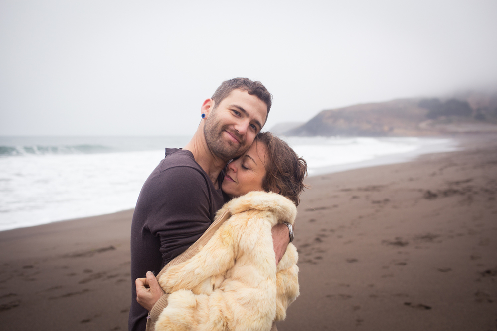 Marin Headlands Rodeo Beach Engagement