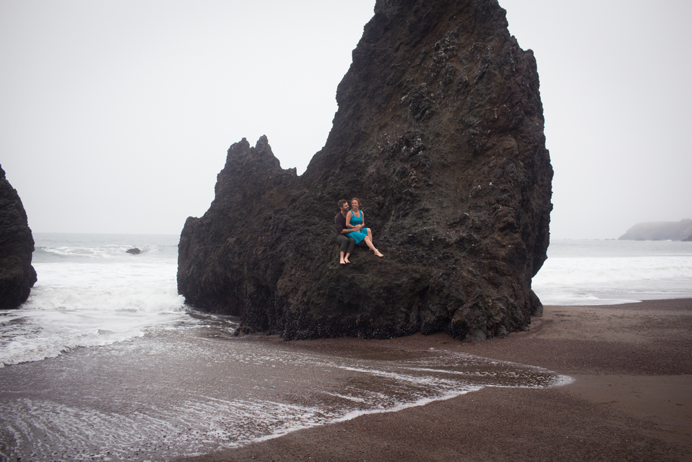 Marin County Rodeo Beach Engagement