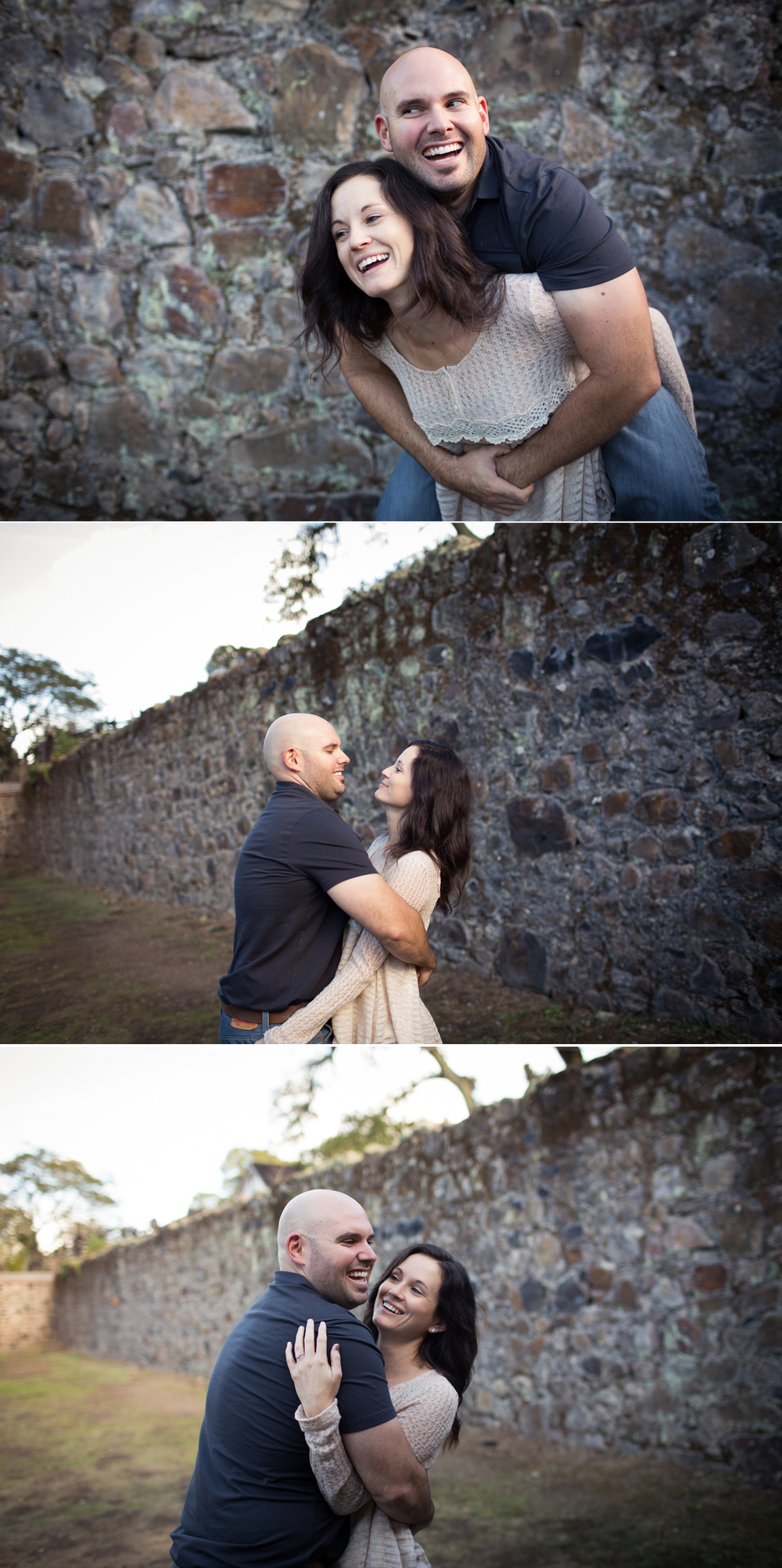 jack london winery ruins engagement