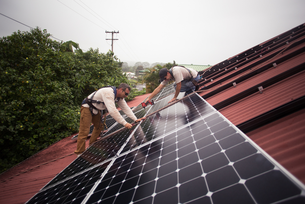 Provision Solar module installation Hilo