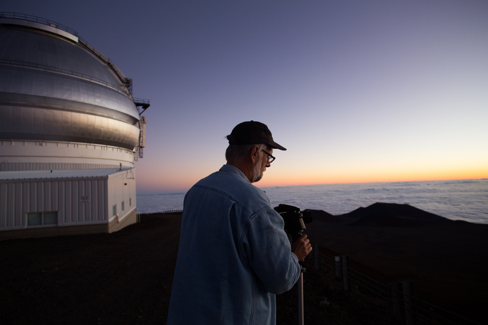 sunrise from Mauna Kea