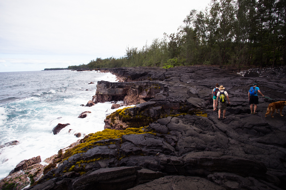 hike to shipman beach hawaii