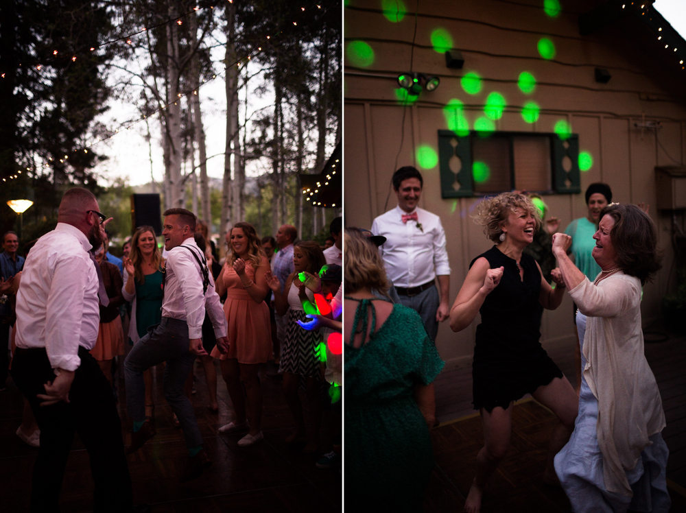 dance party wedding photographer