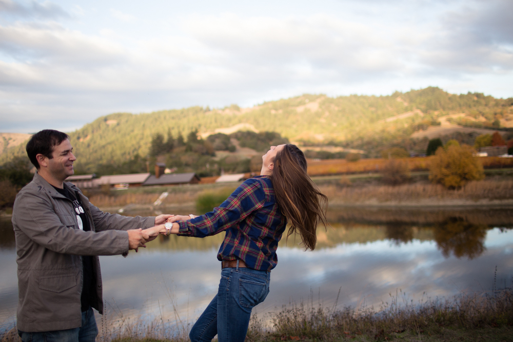 mendocino county engagement photographer