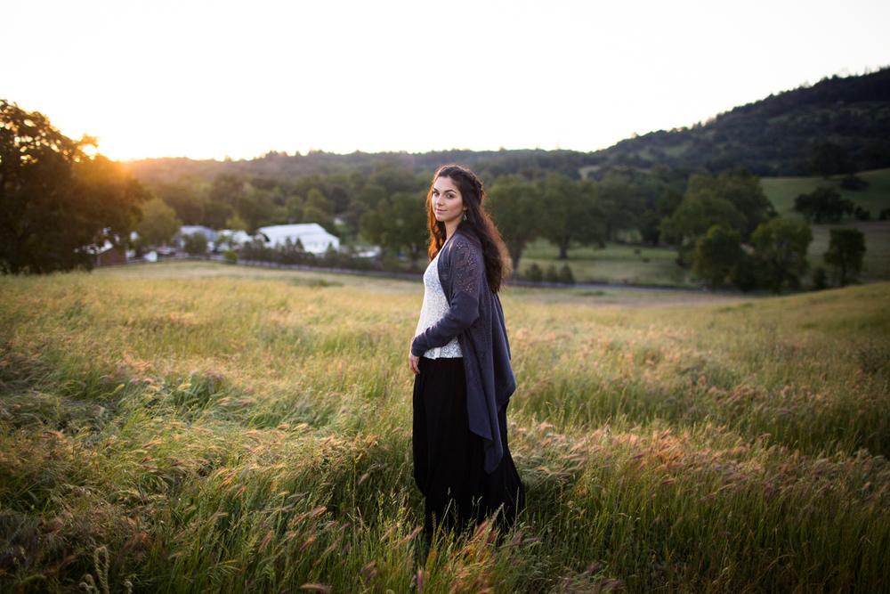 nevada city portrait photographer grass penn valley