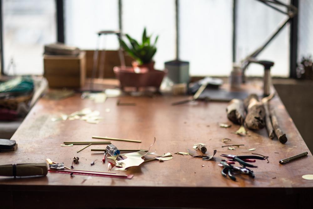 studio portraits interiors nevada city jewelry designer