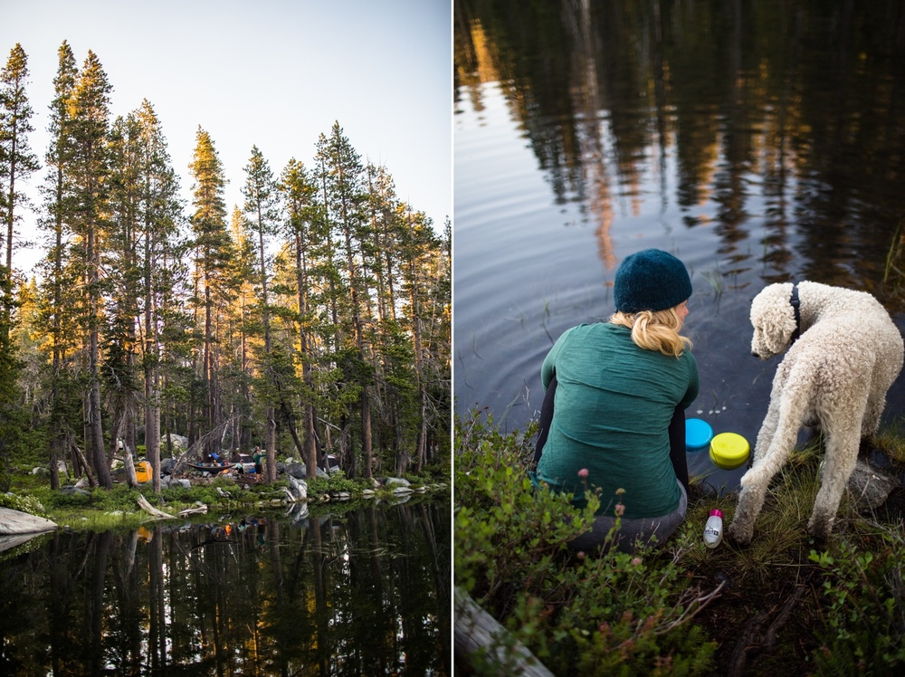 tahoe national forest backpacking