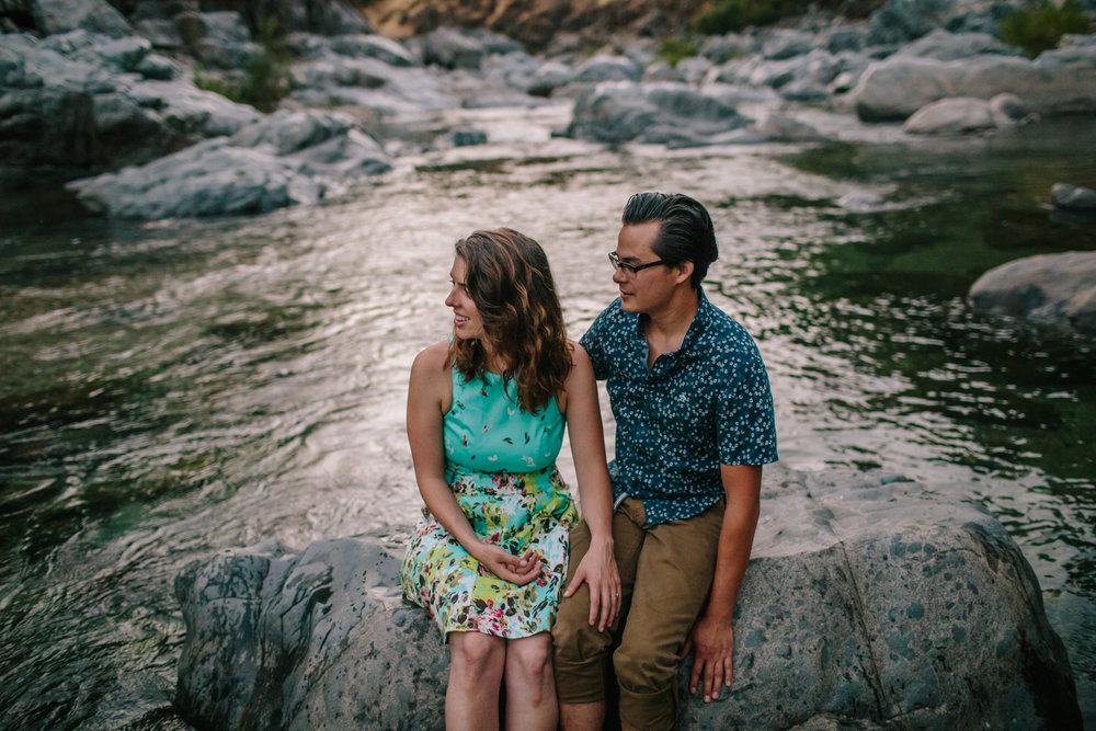 nevada city grass valley engagement photos